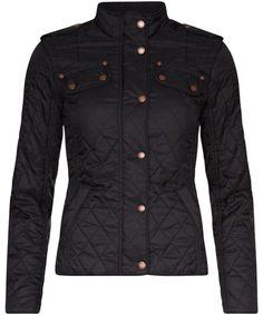 Women's barbour international fireblade quilted jacket