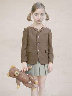 Loretta Lux - Girl with a Teddy Bear, 2001