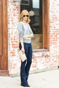 Flares, Meet V-Neck - A PIECE of TOAST // Lifestyle + Fashion Blog // Texas + San Fran