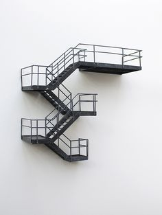 Saved by Inspirationde (inspirationde). Discover more of the best Architecture, Interior, Design, Nick, and Contrives inspiration on Designspiration Stairs Architecture, Interior Architecture, Interior Design, Casa Patio, Minimal Photography, Fire Escape, 3d Prints, Stairways, Wall Decor