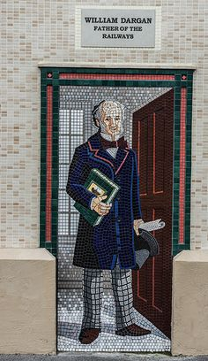 Bray Station: Murals And Mosaics