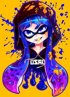 I love the character design in Splatoon, perhaps too much, THEIR TEETH ARE ADORABLE