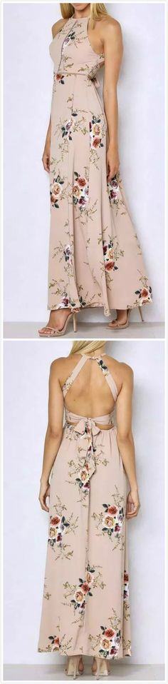 My Favorite Women Fashion Styles Stylish Dresses, Women's Fashion Dresses, Casual Dresses, Summer Dresses, Hot Outfits, Spring Outfits, Floral Print Maxi Dress, Going Out Dresses, Looks Style