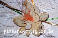 Flor cabelo Orquidea