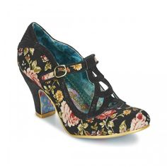 Irregular Choice Floral Shoes