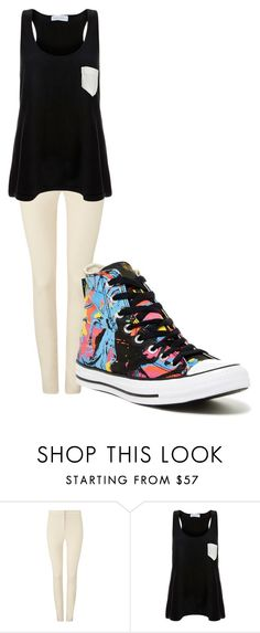 """""""Untitled #119"""" by larissa-gws on Polyvore featuring Phase Eight, Solid & Striped and Converse"""