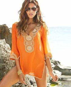 boho style beach coverup