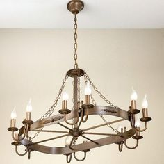 Lustrarte Lighting Rustik Medieval 12 Light Candle-Style Chandelier Finish: Earth