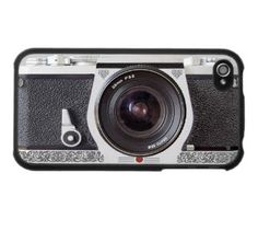 SLR Camera Cover for iPhone 4 and 4s by BrownFamily09 on Etsy, $19.99