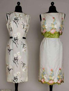 Two Estevez Party Dresses, 1960s, Augusta Auctions, March 21, 2012 NYC, Lot 3