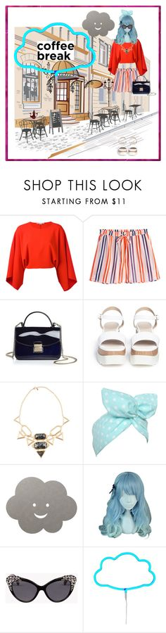 """Glam Total"" by ines-i-g ❤ liked on Polyvore featuring STELLA McCARTNEY, Diane Von Furstenberg, Furla, Pedder Red, Isharya, Lulu in the Sky, LIND DNA, Dsquared2 and A Little Lovely Company"