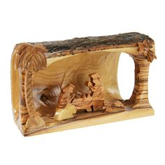 Olivewood+Branch+Nativity+at+The+Animal+Rescue+Site