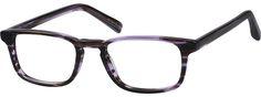 PurpleEames Rectangle Eyeglasses4419417