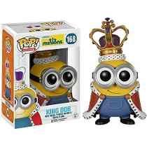 Tb Minions Funko Pop Movies: Minions Figure, Minion King