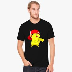 Pikachu With Red Hat Men's T-shirt comes from our  design category with Customon high quality. You can have it in different colors, sizes and any style. This unique design is all about pikachu with red hat, pikachu pikachu with red hat, pikachu red hat, pikachu red, cartoon, pikachu, with, red, hat. Customon has a huge and amazing designer collections for you or your loved ones. Easy to find a perfect gift for Father's Day, Mother's Day, Valentine's Day, Christmas, birthdays, anniversaries…
