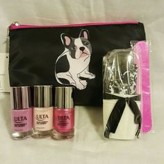 Selling this Makeup bag w/ 3 nail polishes & manicure set in my Poshmark closet! My username is: dlm222. #shopmycloset #poshmark #fashion #shopping #style #forsale #ulta #Other