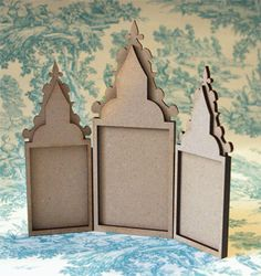 PaperWhimsy Product:Baroque Triptych 01