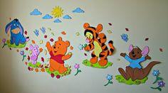 Blog Dona Gica: Ursinho Pooh e sua turma em EVA