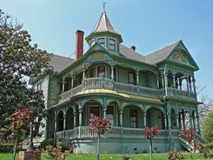 Victorian House In Brenham Texas
