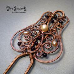 Antique hair pin