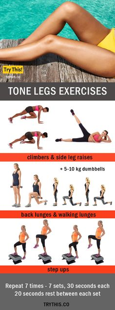 legs Exercises For Bikini Body