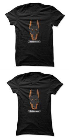 I Love My Dog T Shirt Doberman Great Gift For Any Pet Lover #dog #apparel #nyc #dog #t #shirt #designs #dog #t #shirt #quotes #man #u #dog #shirt