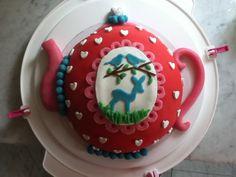 Theepot taart
