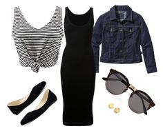 """""""Untitled #25"""" by le-crow on Polyvore featuring WithChic, Patagonia, Dion Lee, Nine West, Kenneth Cole and Illesteva"""