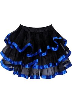 Amazon.com: Yummy Bee Sexy Frilly Skirt Womens Burlesque Tutu Cosplay Costume Plus Size 2-20: Clothing