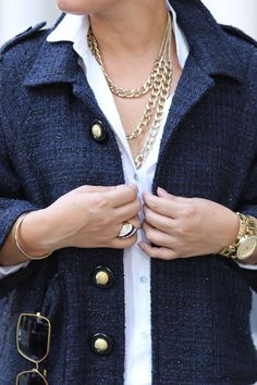 DIY Fabulous Tweed Jacket - Mimi G Style