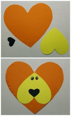 Min blogg om allt mellan himmel och jord: Pyssel för barn till alla hjärtans dag Valentine's Day Crafts For Kids, Valentine Crafts For Kids, Toddler Crafts, Diy For Kids, Diy And Crafts, Arts And Crafts, Paper Crafts, Valentines, Easy Origami For Kids