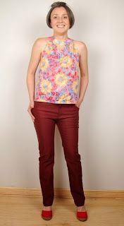 EL BAÚL DE LAS COSTURERAS: Pantalón clásico ajustado