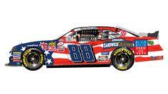 Darlington's throwback paint schemes   NASCAR.com