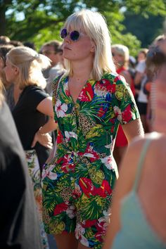 Alistair Guy Snaps Caroline Winberg and More Street-Style Stars at Sweden's Way Out West Festival