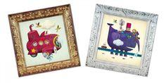 С тези комплекти малкият творец ще създаде уникални произведения на изкуството, с които да украси своята стая.
