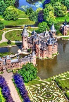 Castle de Haar in Netherlands