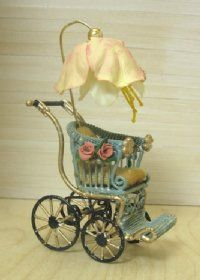 Antique Baby Carriage Baby Doll Carriage Buggy Stroller