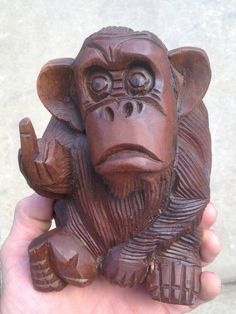 Hand carving by Marty Guy When you want to say it with pictures