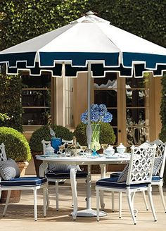Frontgate; Lovely Garden Dining