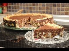 YouTube No Bake Desserts, Dessert Recipes, Greece Food, Cheesecake Cake, Sweet And Salty, Cheesecakes, Sweet Recipes, Christmas Time, Food And Drink