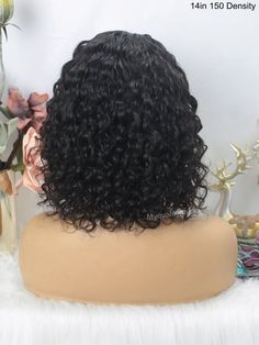 Headband Wig Curly Bob Wigs Beginner Friendly Virgin Human Hair [HW06] – myqualityhair Headband Wigs, Curly Bob Wigs, Hair Quality, Half Up Half Down, How To Make Hair, Protective Styles, Lace Wigs, Cool Hairstyles, Long Hair Styles