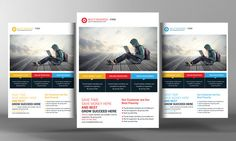 Check out Business Solution Flyer Template by Corporate Flyers Postcard on Creative Market