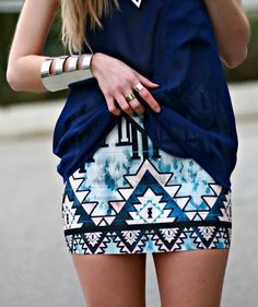 The butterfly wing skirt