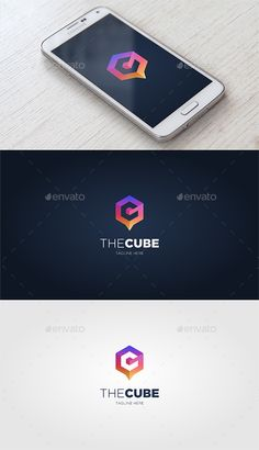 The Cube — Vector EPS #3d #logo #gradient • Available here ➝ https://graphicriver.net/item/the-cube/20564028?ref=pxcr