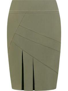 Spódnica damska Antonina.   Sklep online ModBiS.pl Skirt Outfits, Dress Skirt, Mode Kimono, Work Skirts, Linen Skirt, African Fashion Dresses, Work Attire, Plus Size Outfits, Paule Ka