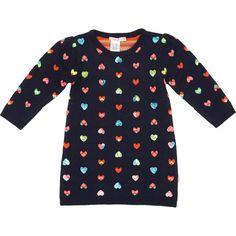 Billie Blush Sequin Heart Sweater Dress at Barneys.com
