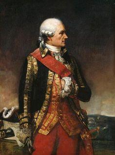 Jean-Baptiste Donatien de Vimeur, comte de Rochambeau.