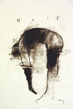 mianoti:    Harry Paul AllyNuit Study #9Charcoal on papervia workman