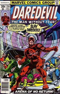 Daredevil #154 - Arena of No Return! (Issue)