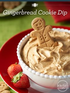 Is this real life?! You have to try this #Gingerbread Dip recipe